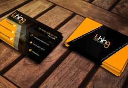 Business Card for Thing Store