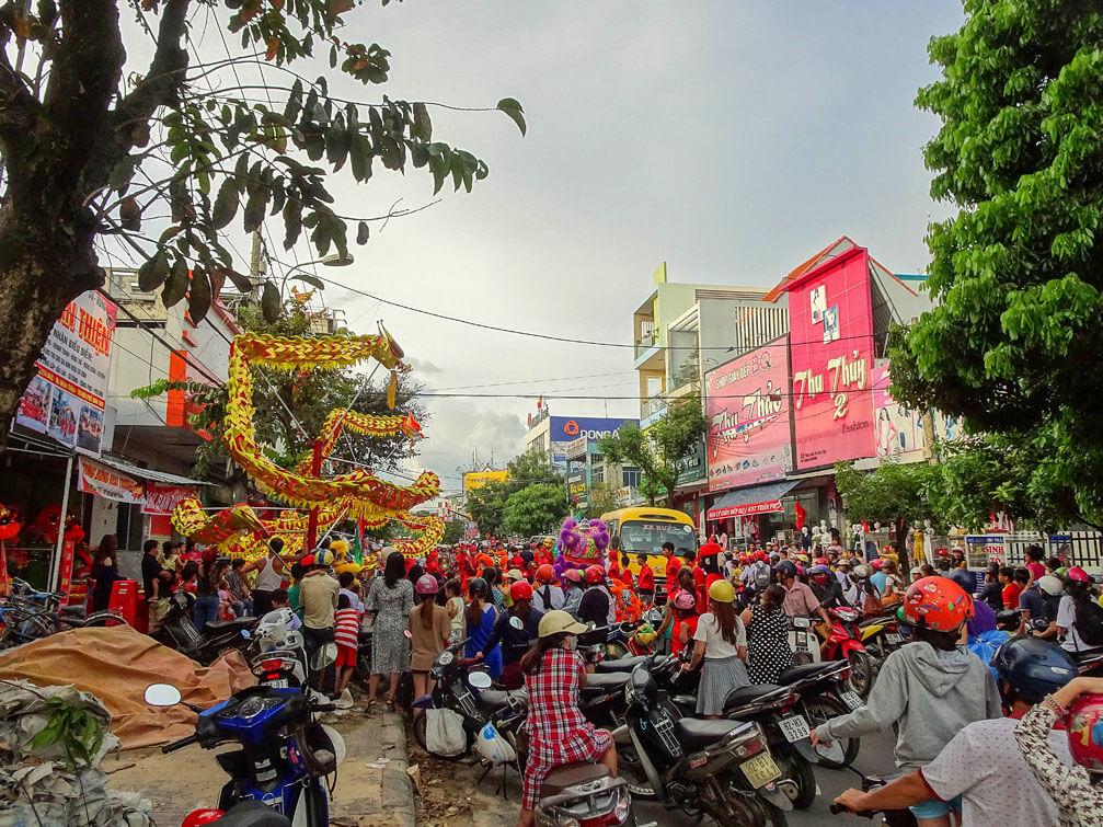 lễ hội trung thu tại Kon Tum