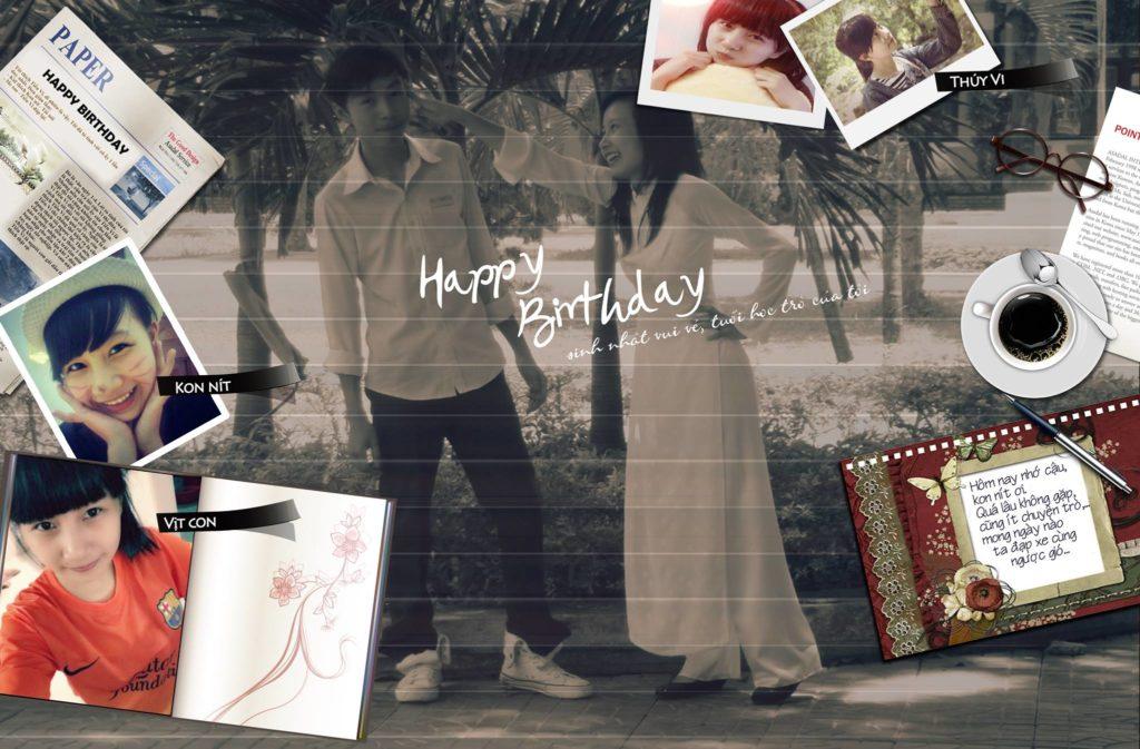 sinh nhật Kon Nít