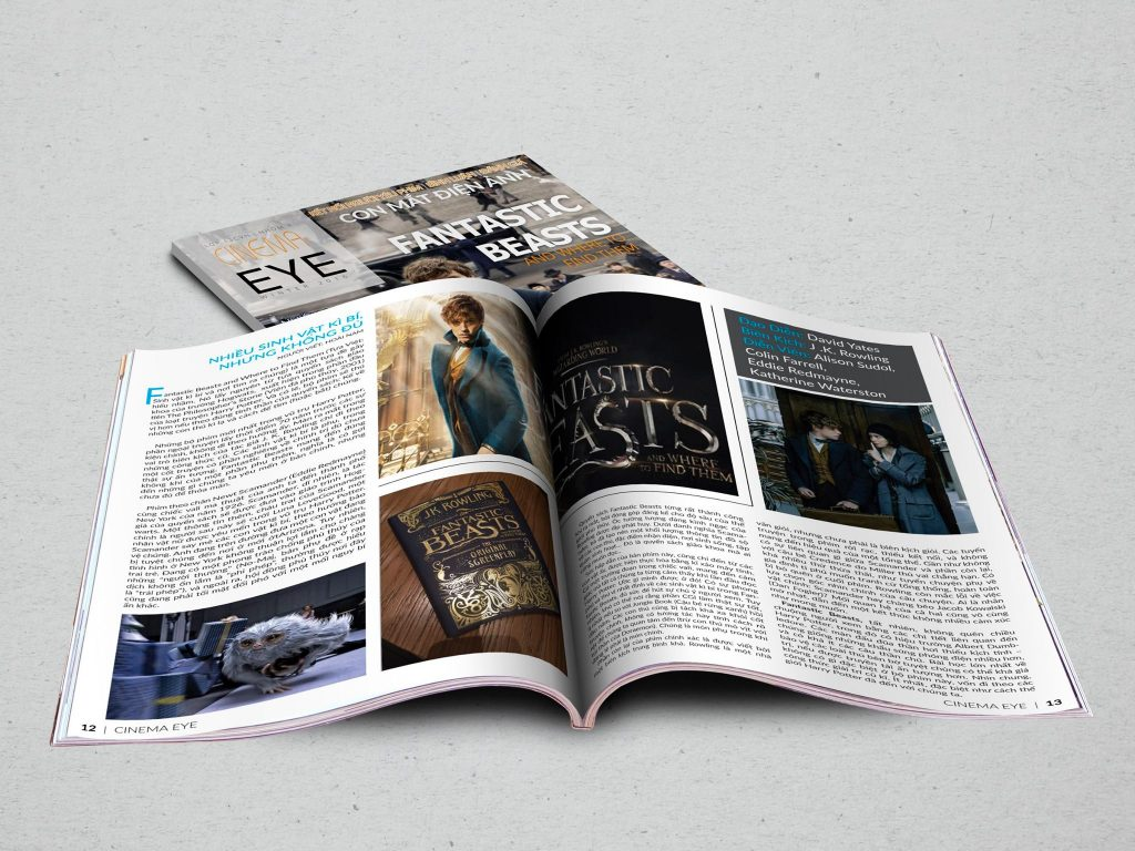 bài tập nhóm thiết kế tạp chí