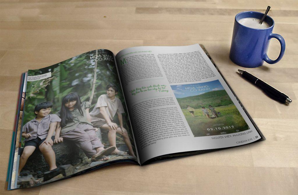 mẫu tạp chí