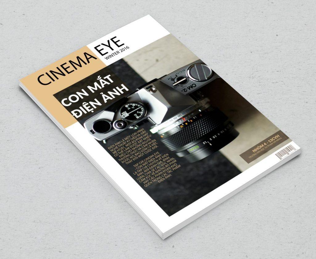 trang bìa sau tạp chí điện ảnh