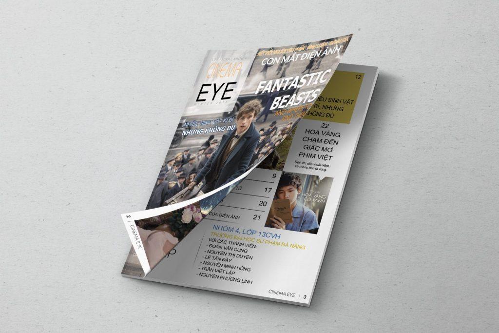 trang bìa tạp chí điện ảnh