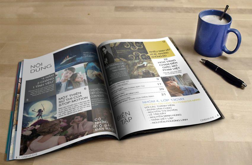 Thiết kế Tạp chí điện ảnh