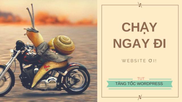 Tăng tốc website – Tối ưu hóa WordPress toàn diện (Siêu Checklist)