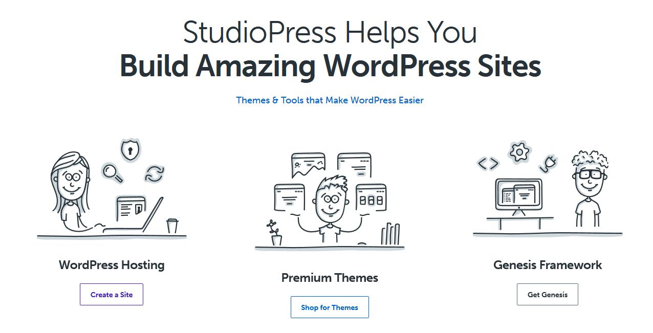 theme nhẹ load nhanh studio press
