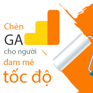 chèn google analytics wordpress chậm