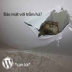 wordpress không an toàn