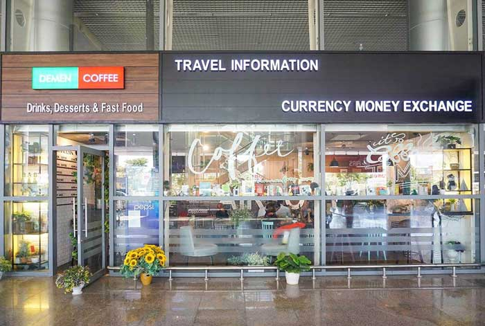 Demen Coffee Airport 1