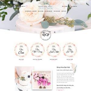 Mau Website Ban Hoa
