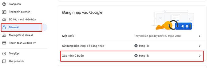Lay Mat Khau Ung Dung Google