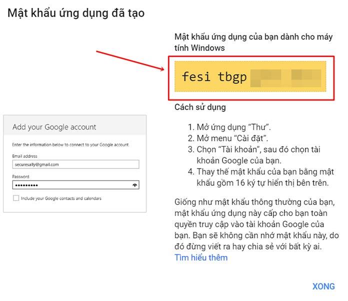 Tao Mat Khau Ung Dung Google