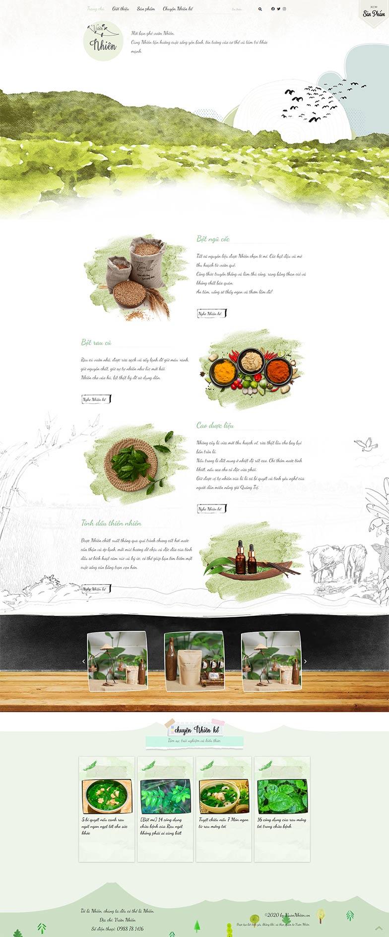 Trang Chu Website Vuonnhien
